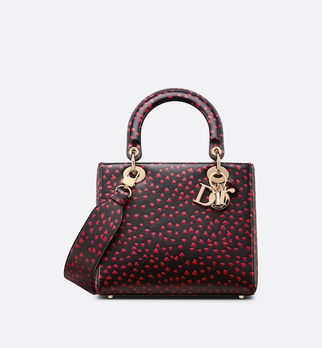 Sac Lady Dior Medium Vue de face Vue de face