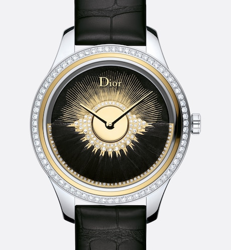 Black Dior Grand Bal Plume aria_frontView aria_frontView