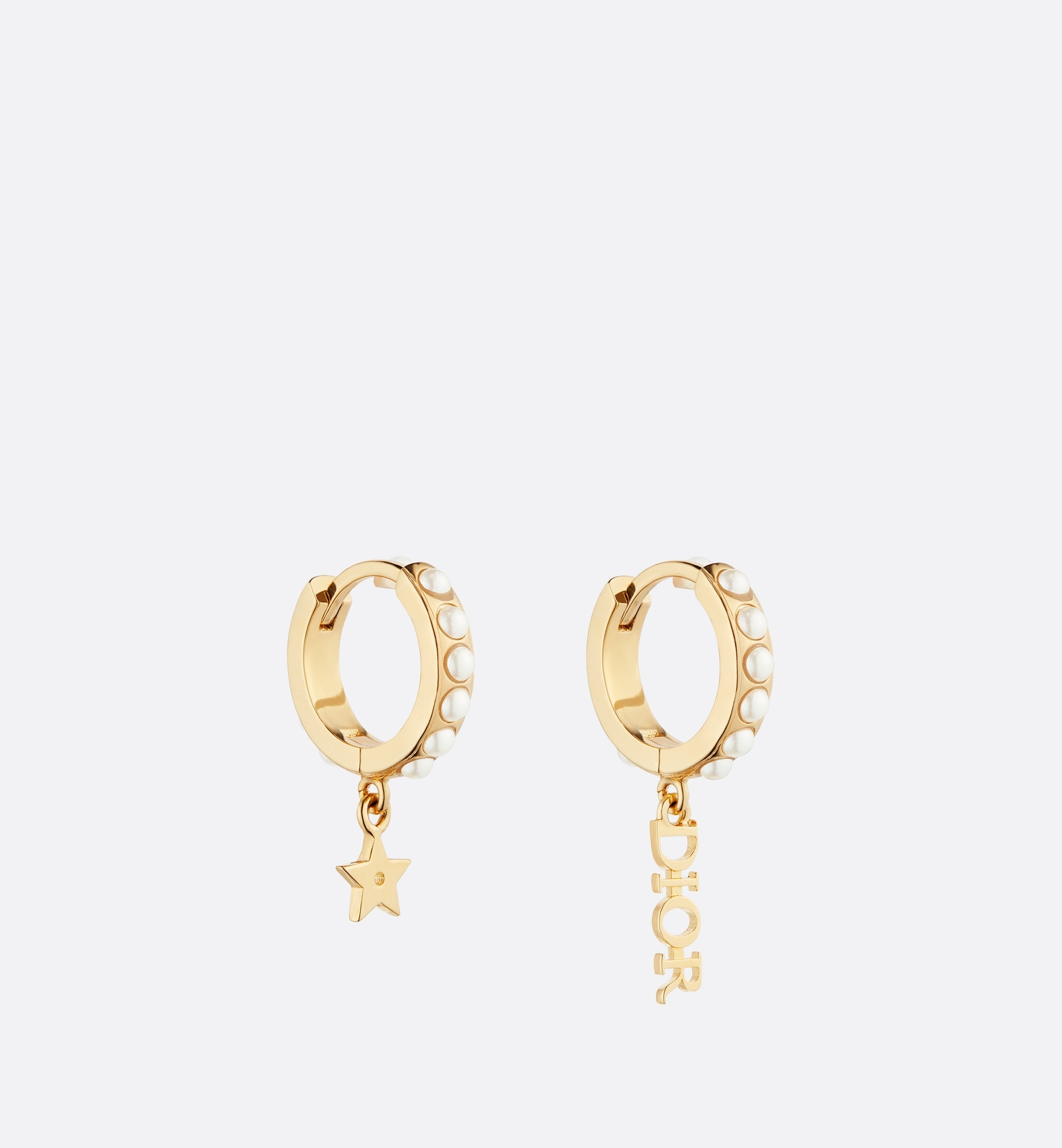 dio(r)evolution earrings | Dior Three quarter closed view