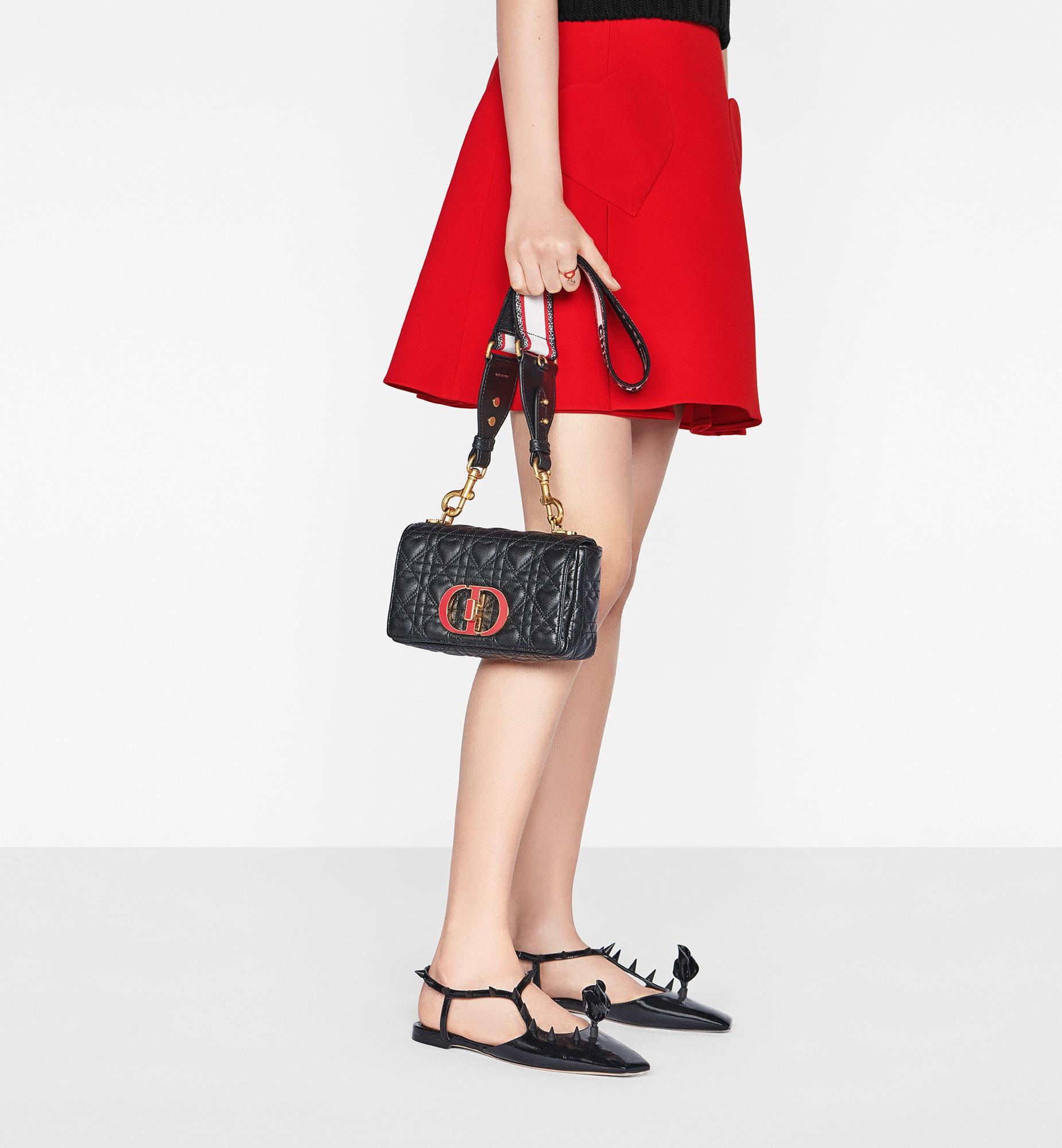 Medium Dioramour Dior Caro Bag Worn view Open gallery