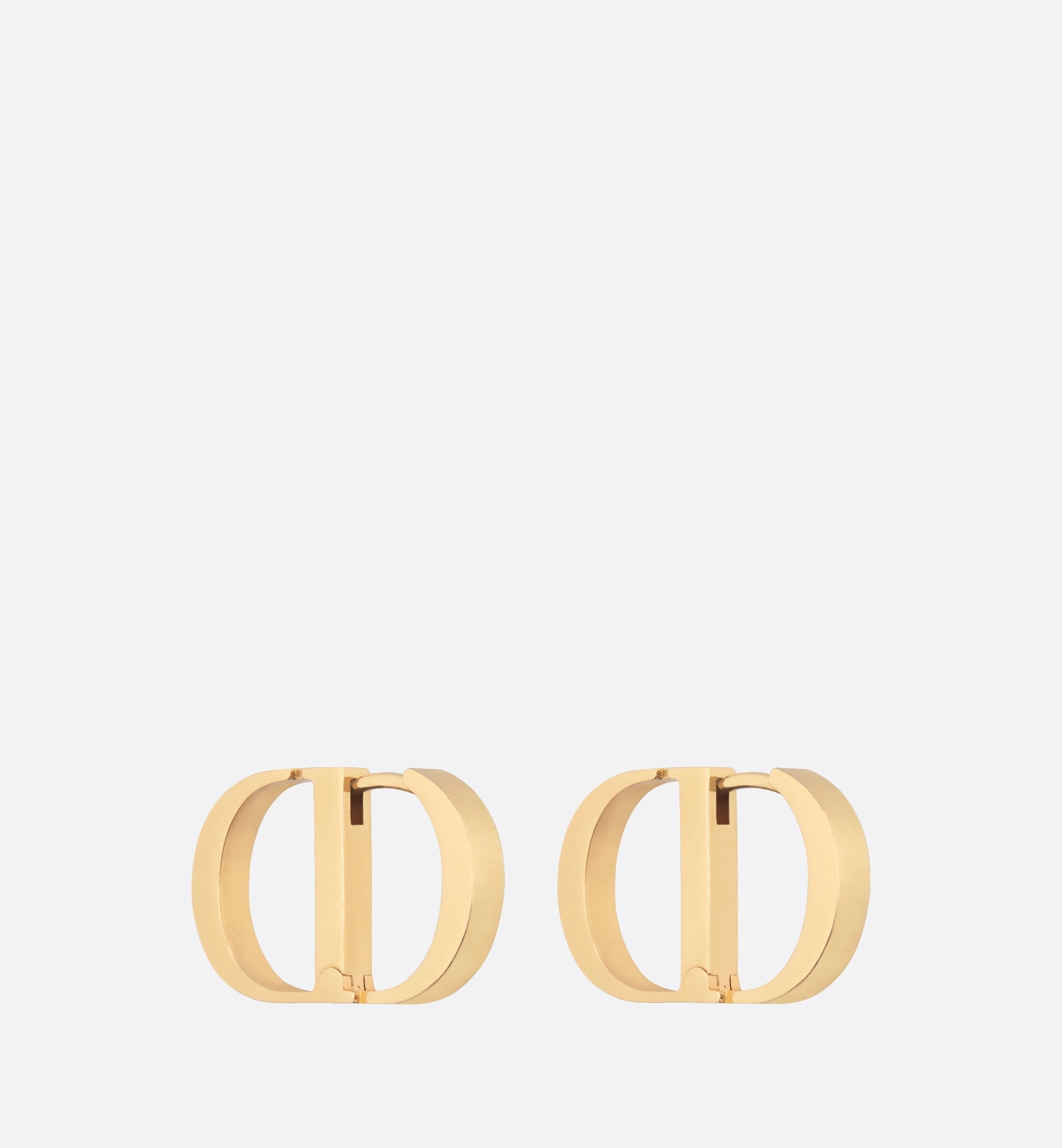 30 montaigne earrings | Dior Three quarter closed view