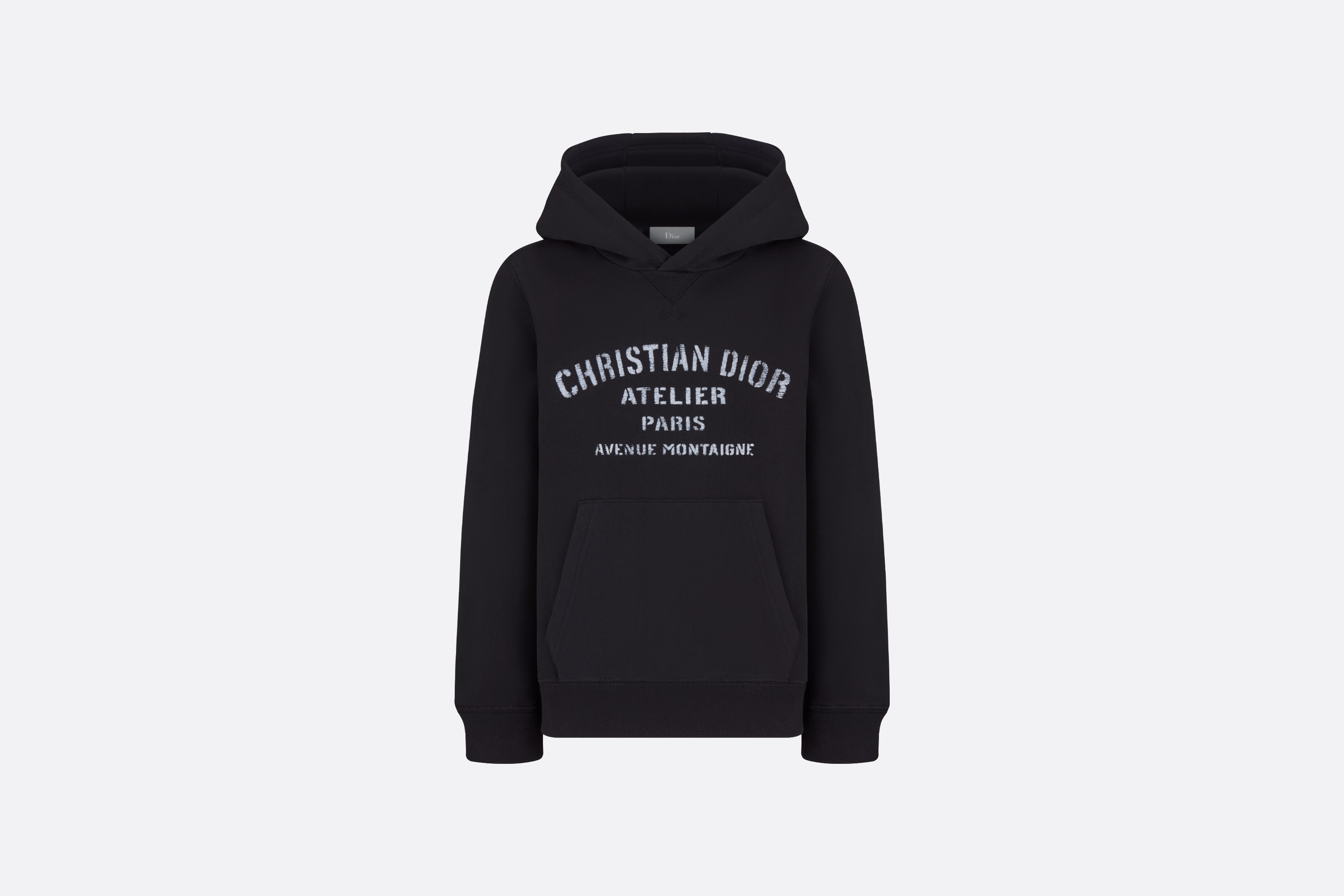 'Christian Dior Atelier' Hooded Sweatshirt Front view Open gallery