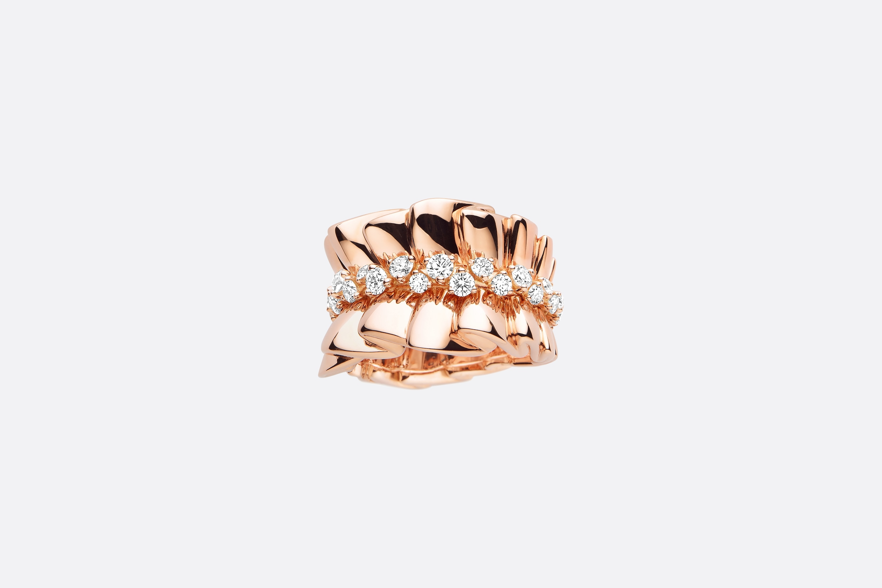 Archi Dior Ring Front view Open gallery