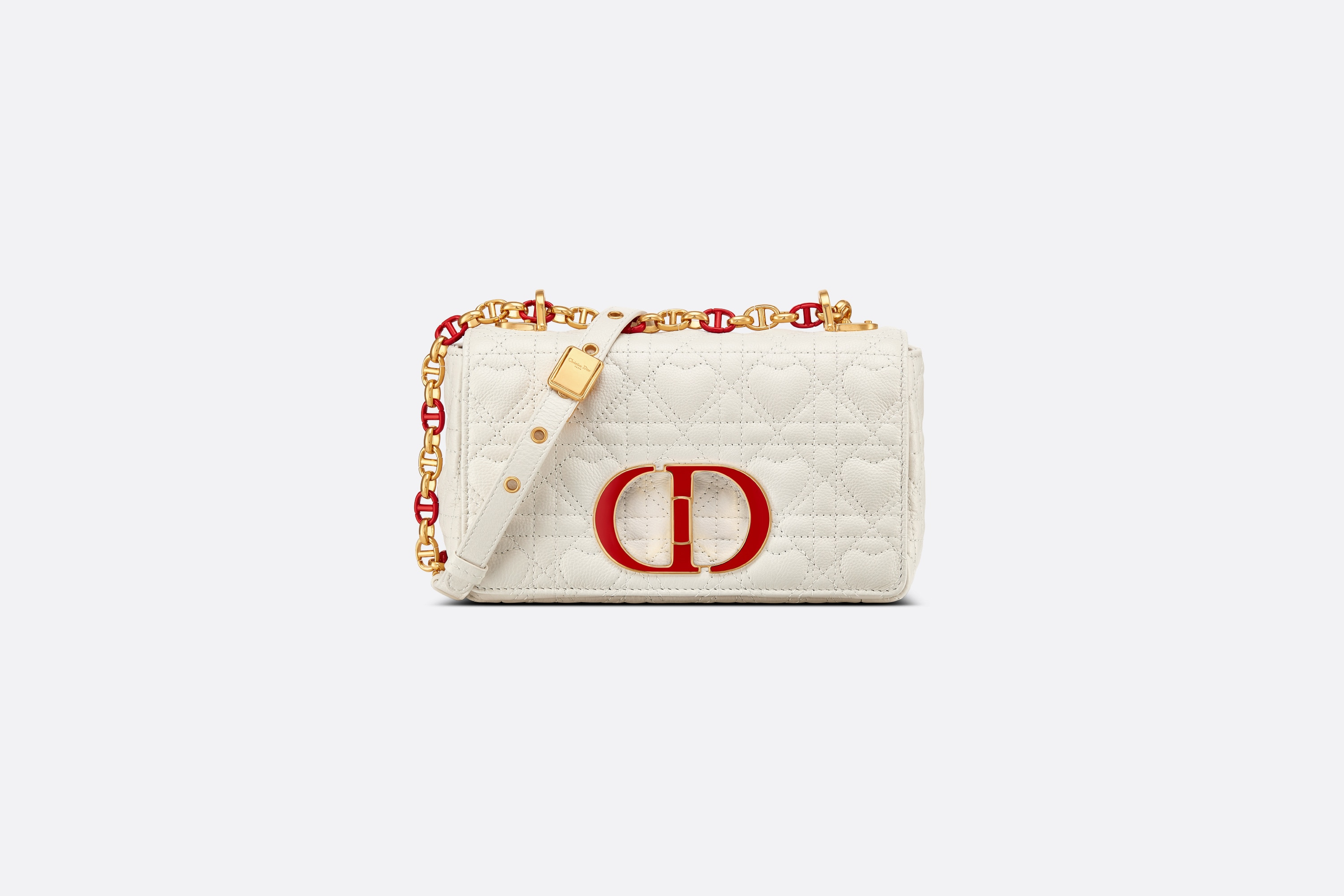 Small Dioramour Dior Caro Bag Front view Open gallery