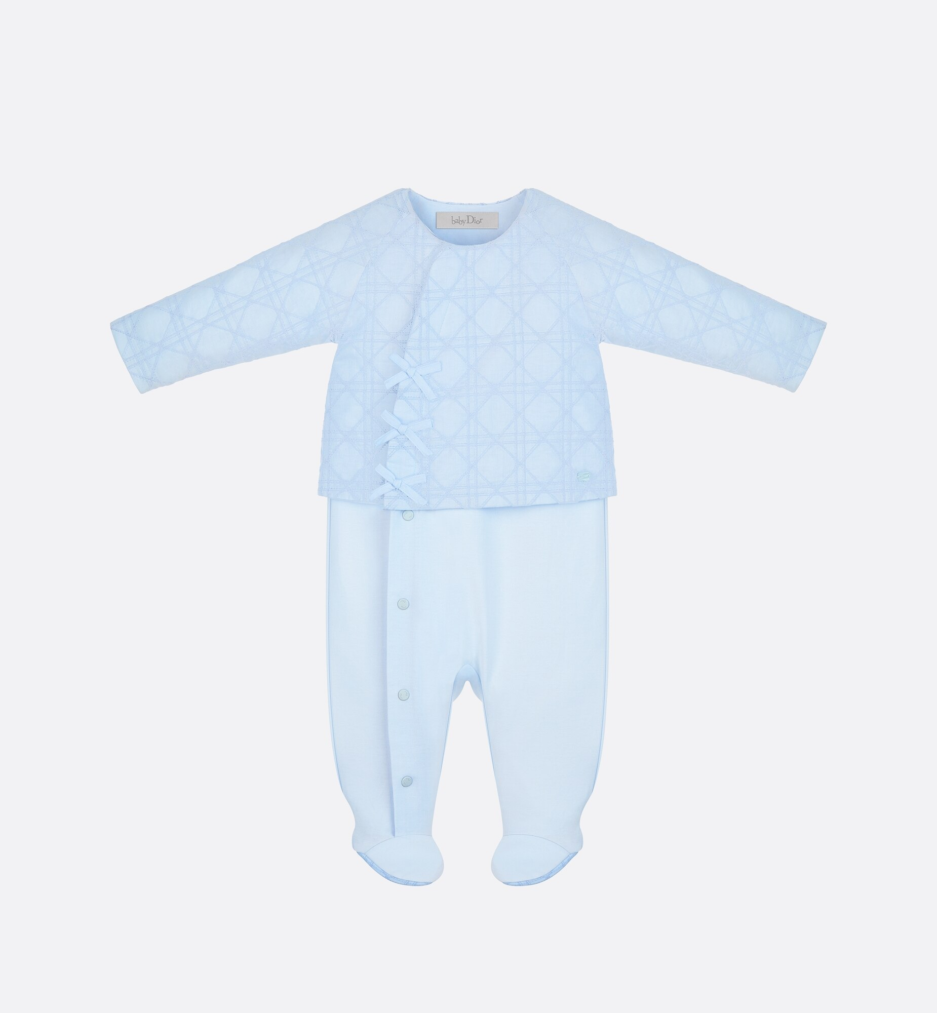 Cannage Sleepsuit Front view