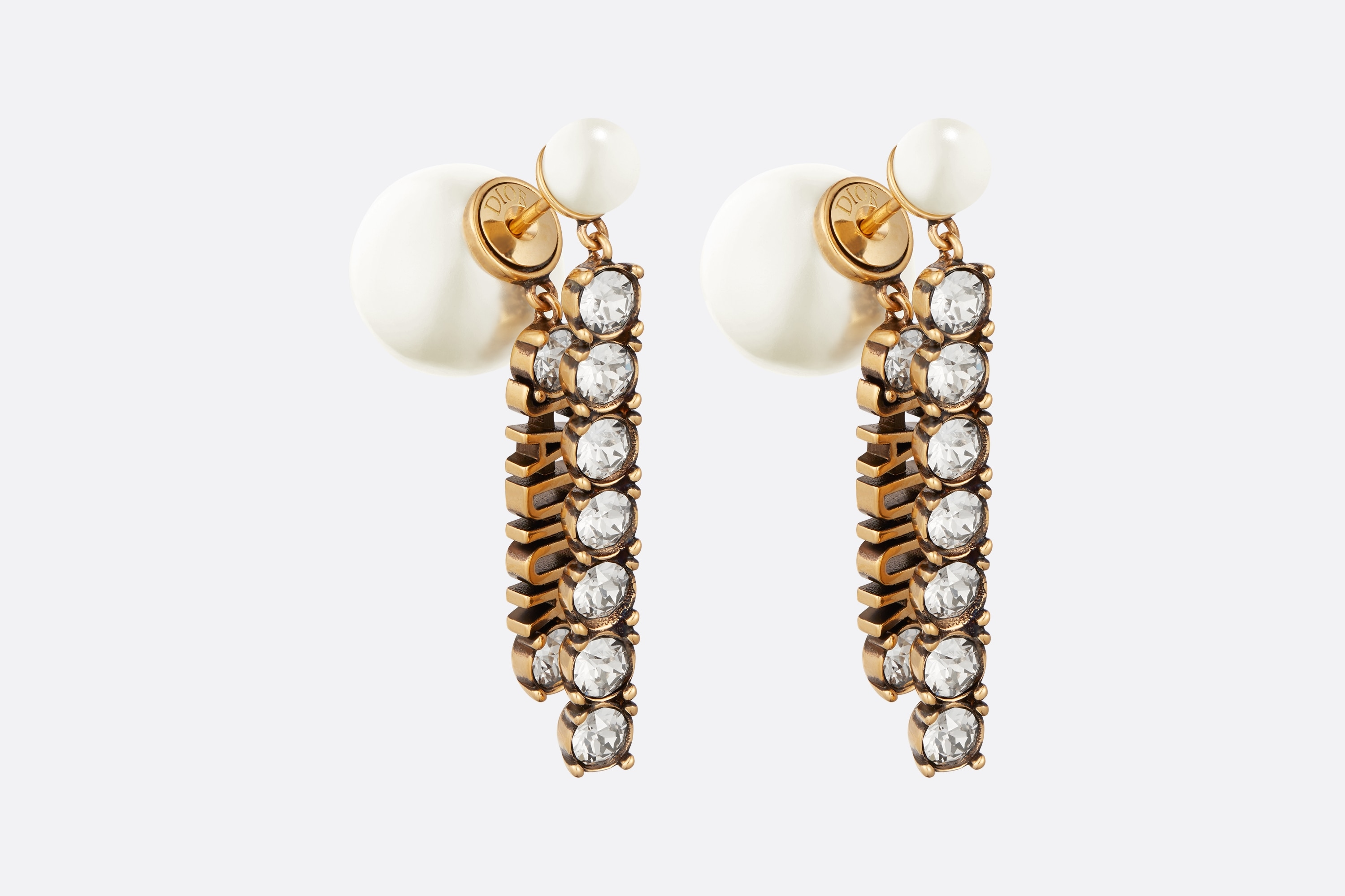 Dior Tribales Earrings Front view Open gallery