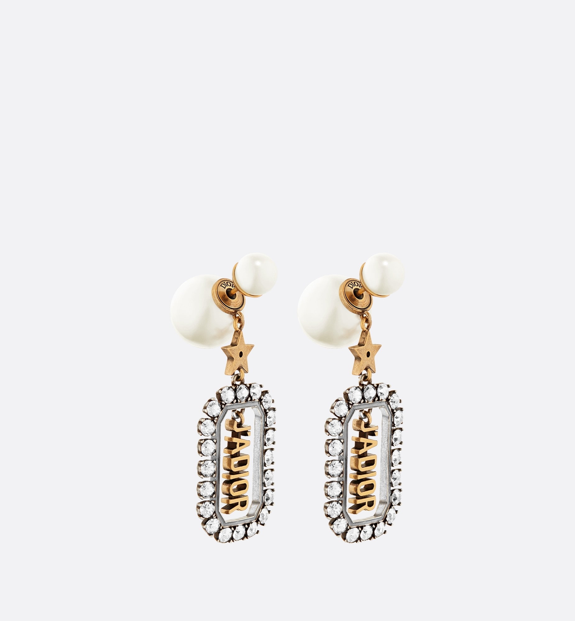 dior tribales earrings | Dior Three quarter closed view
