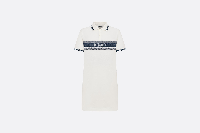 Dioriviera 'MONACO' Polo Shirt Dress Front view Open gallery
