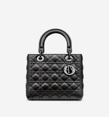 Medium Lady Dior Bag Front view Front view