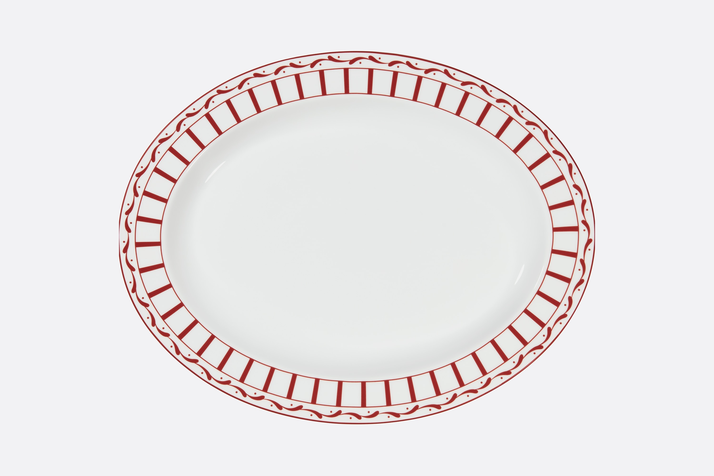 Oval Platter  Front view Open gallery