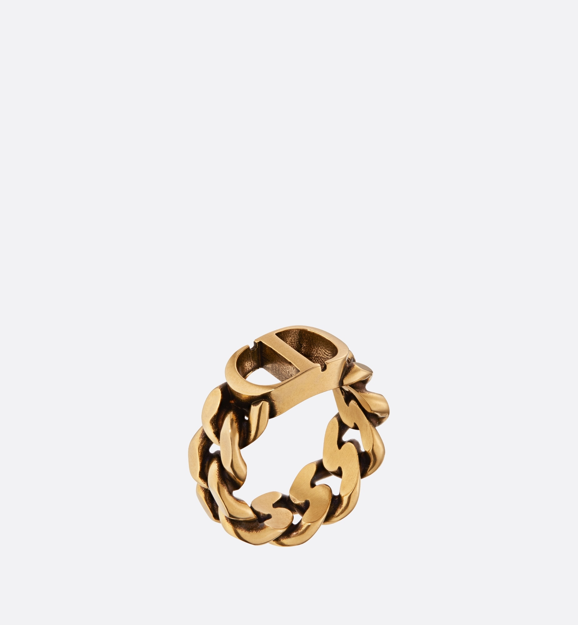 30 montaigne ring | Dior Three quarter closed view