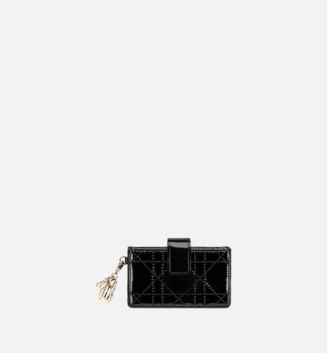Lady Dior 5-Gusset Card Holder Front view Front view