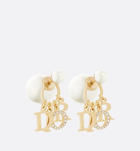 Dior Tribales Earrings Three quarter closed view Three quarter closed view
