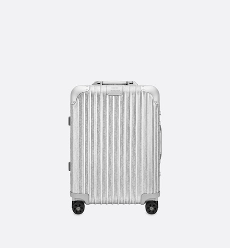 DIOR and RIMOWA Cabin Suitcase  Front view Front view