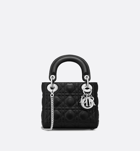 Mini Lady Dior Bag Front view Front view