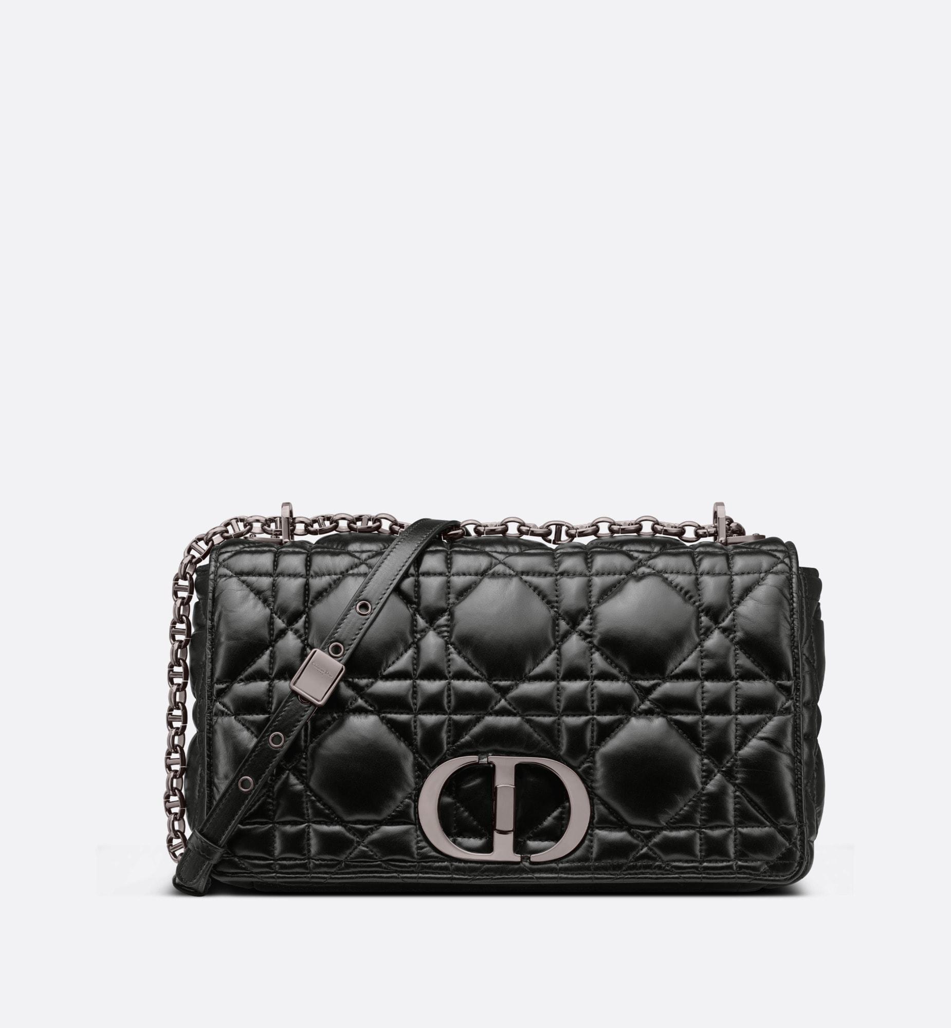large dior caro bag | Dior Front view