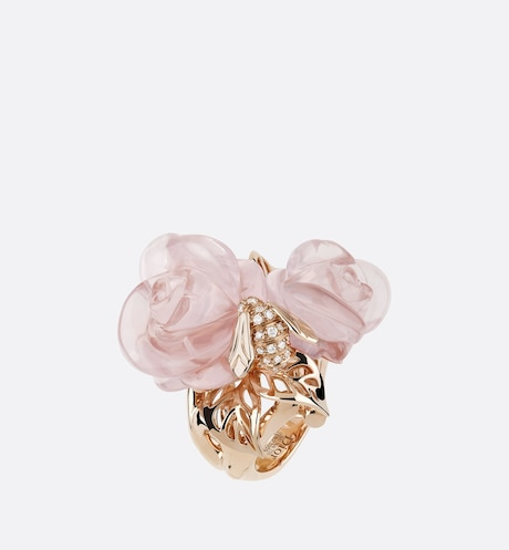 Large Rose Dior Pré Catelan-ring aria_frontView aria_frontView