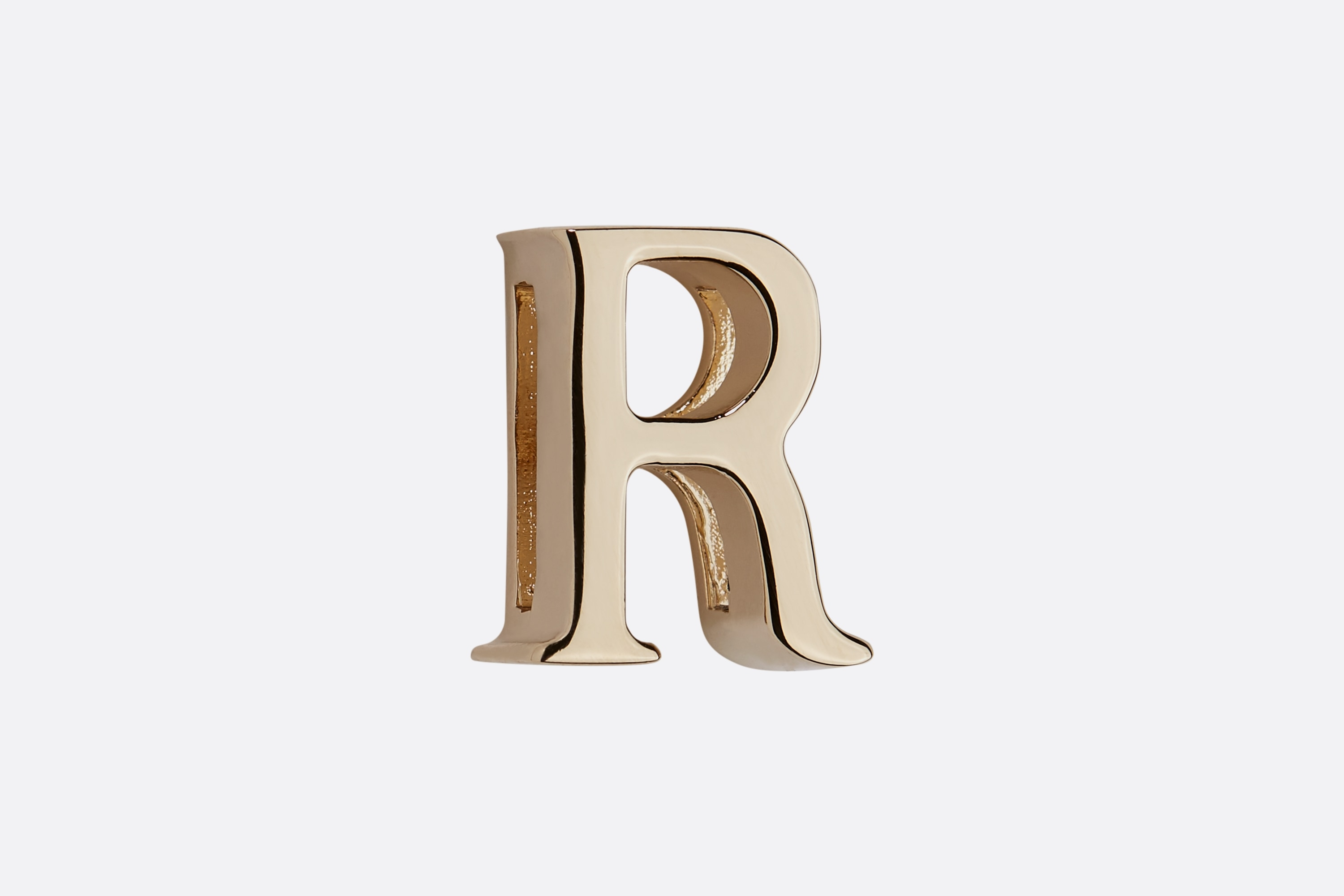 My ABCDior Letter 'R' Badge Front view Open gallery