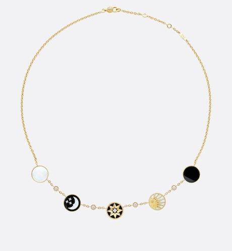 Dior Rose Celeste Necklace