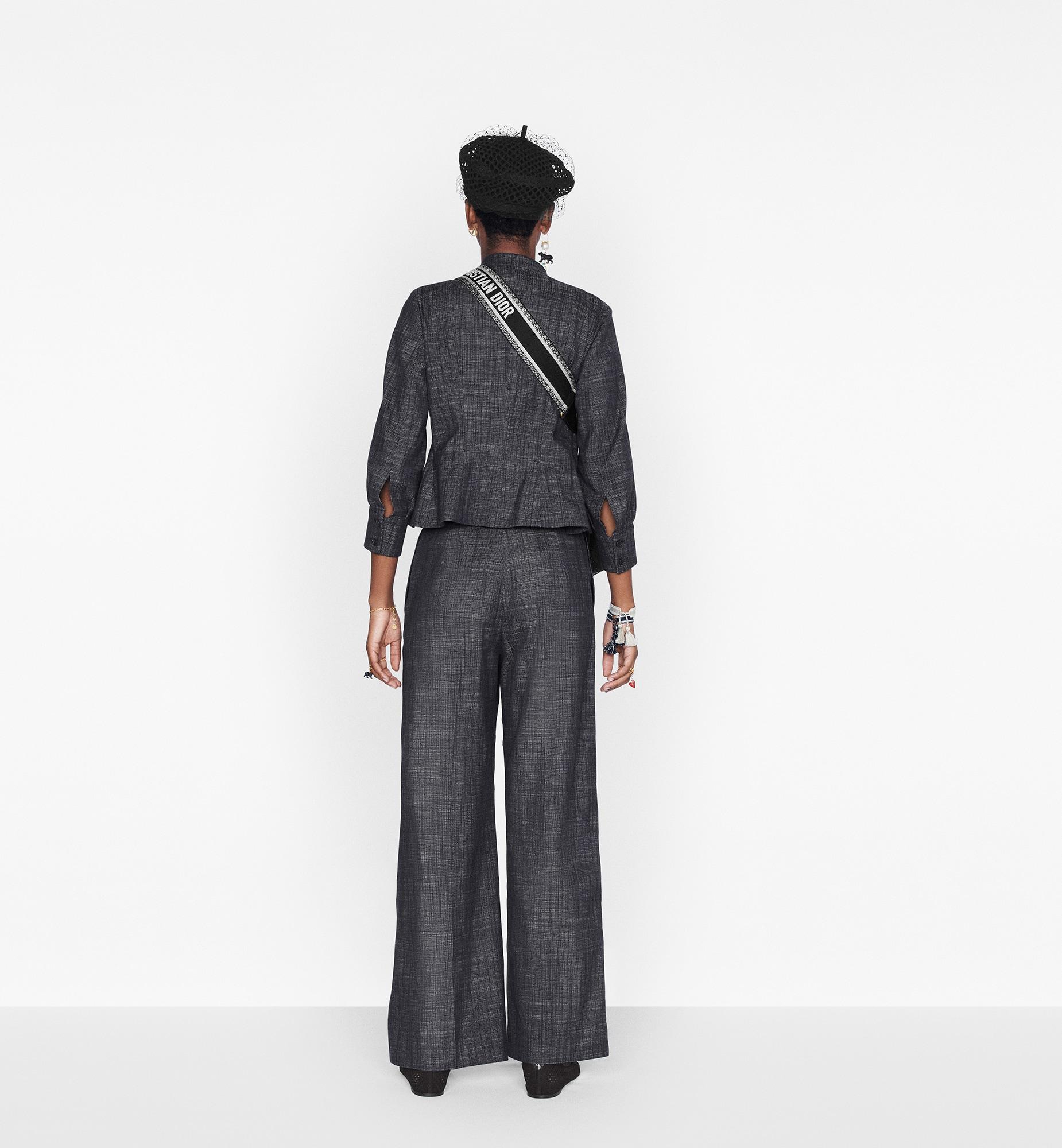 Three-Quarter Sleeve Jacket Worn view Open gallery