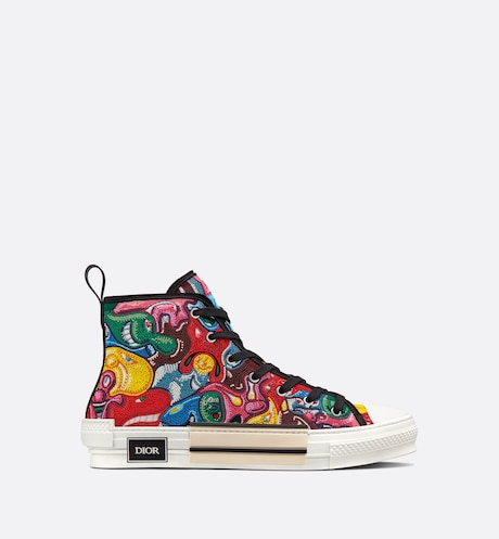 Hoge B23-sneaker met DIOR AND KENNY SCHARF-motief aria_profileView aria_profileView