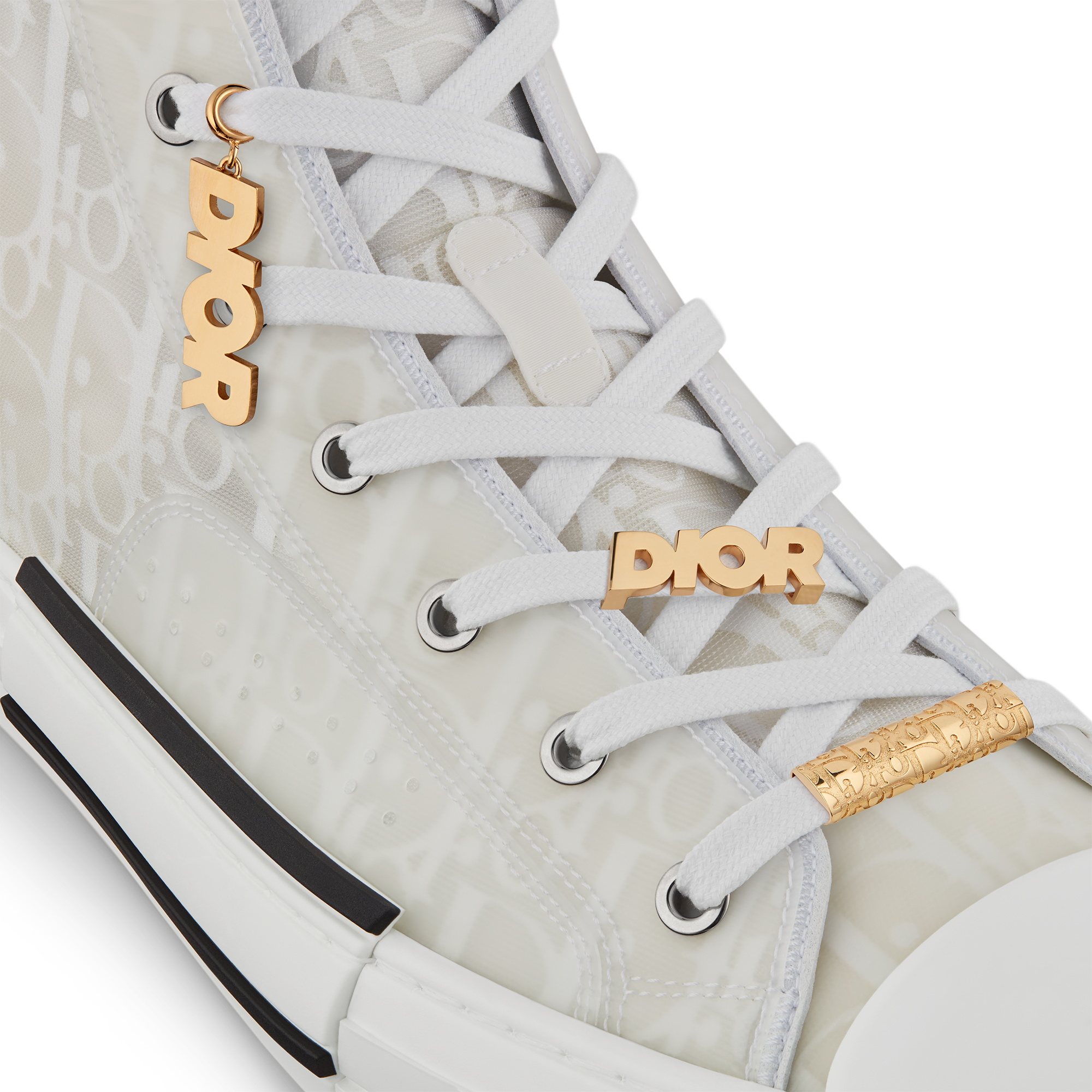 'DIOR' Sneaker Charm Worn view Open gallery