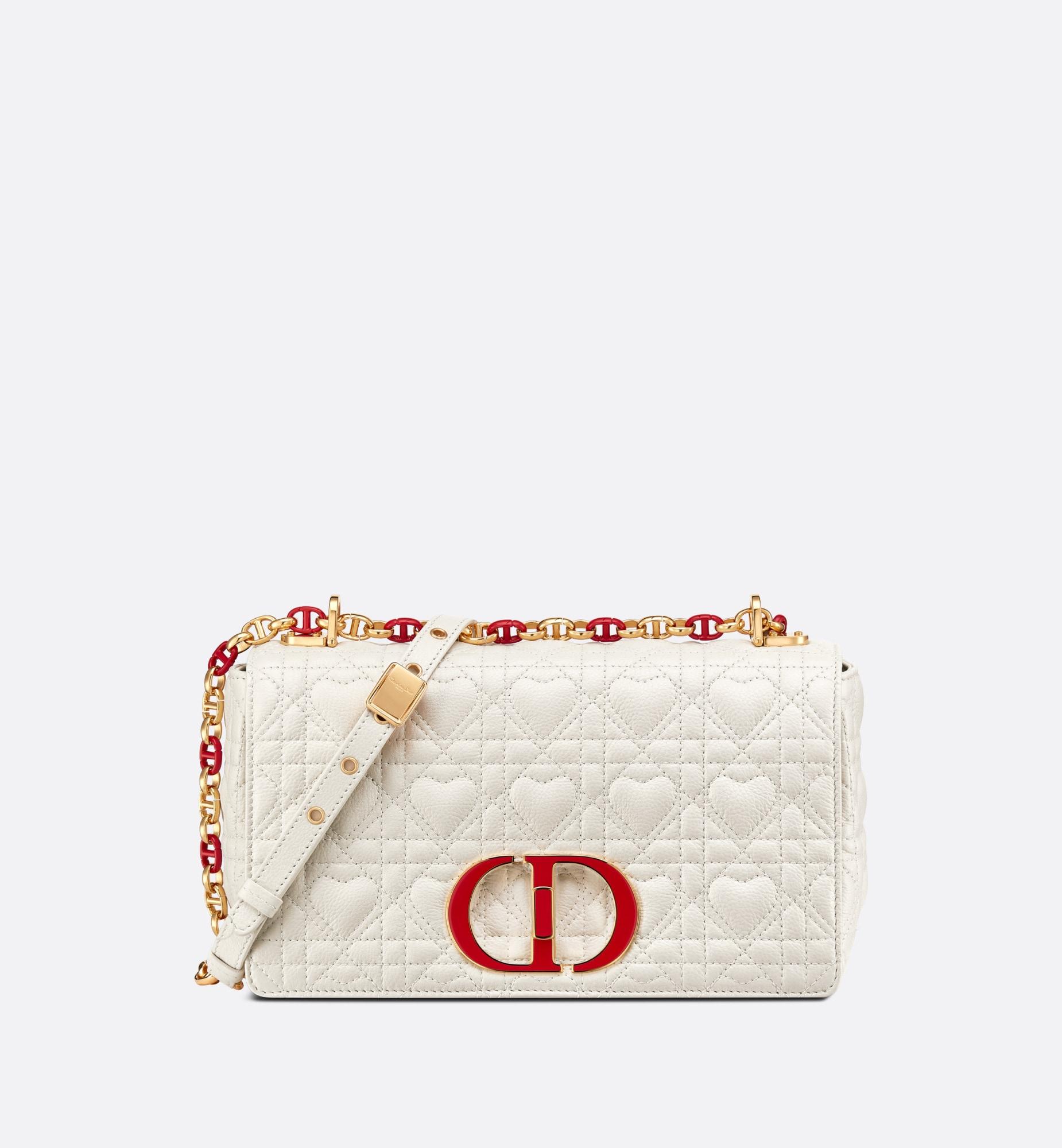Medium Dioramour Dior Caro Bag Front view