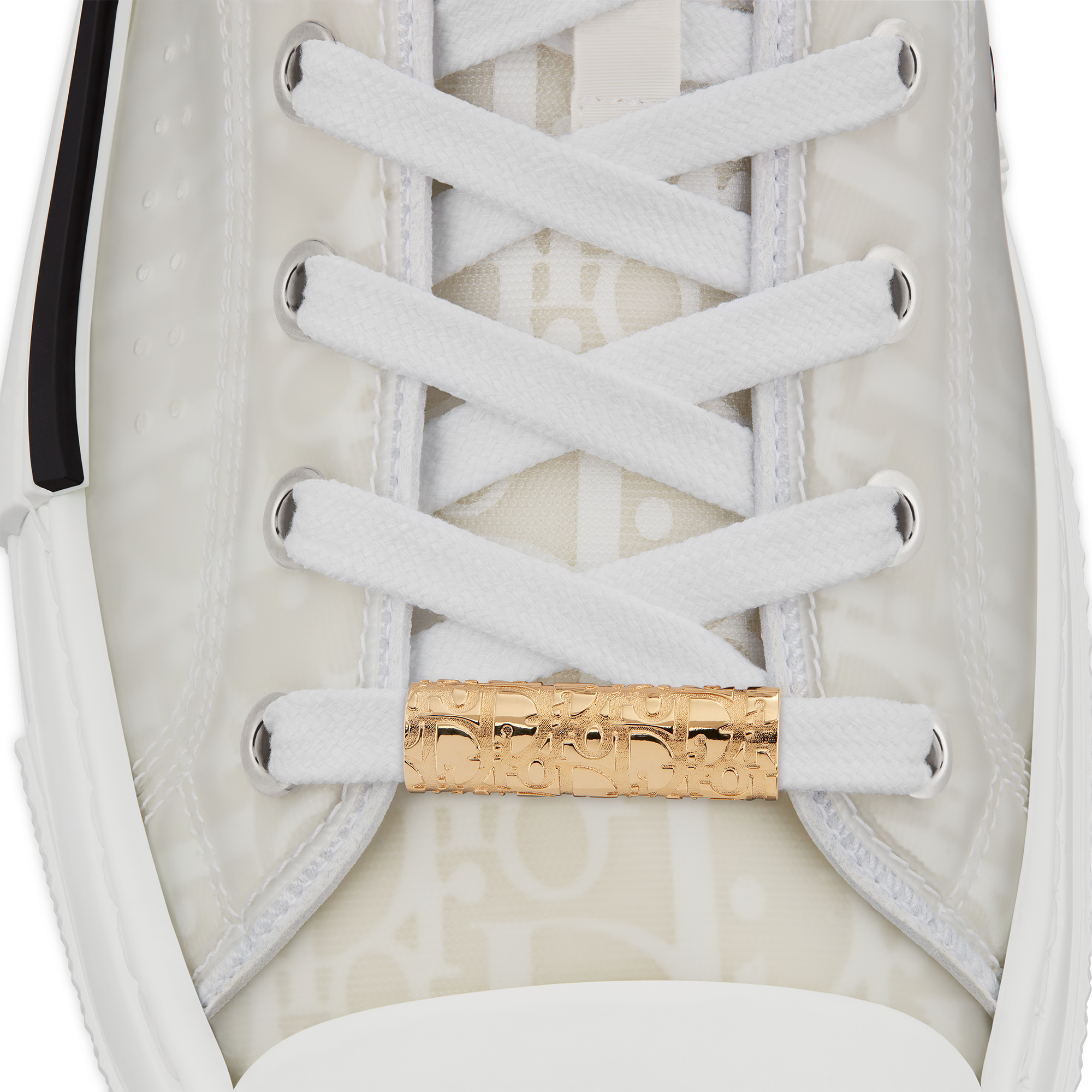 Sneaker Charm with Dior Oblique Motif Worn view cropped Open gallery