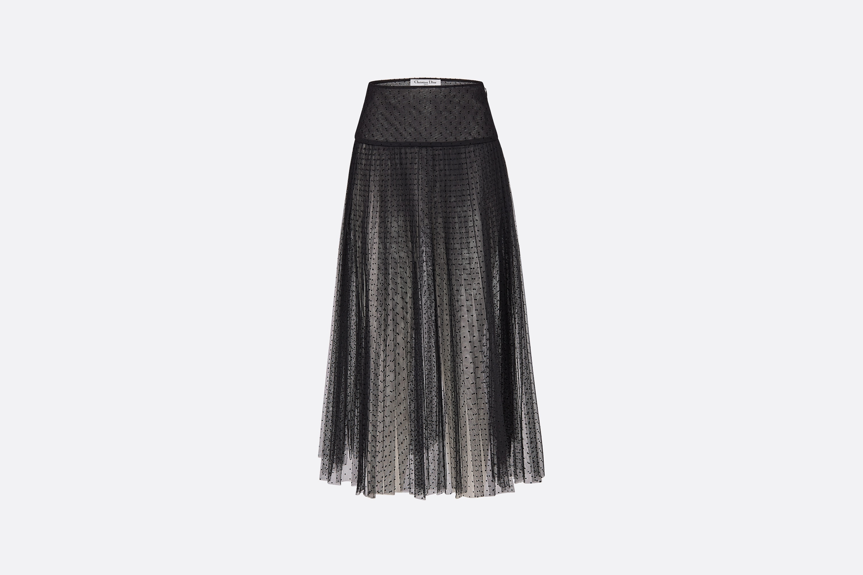 Pleated Skirt Front view Open gallery