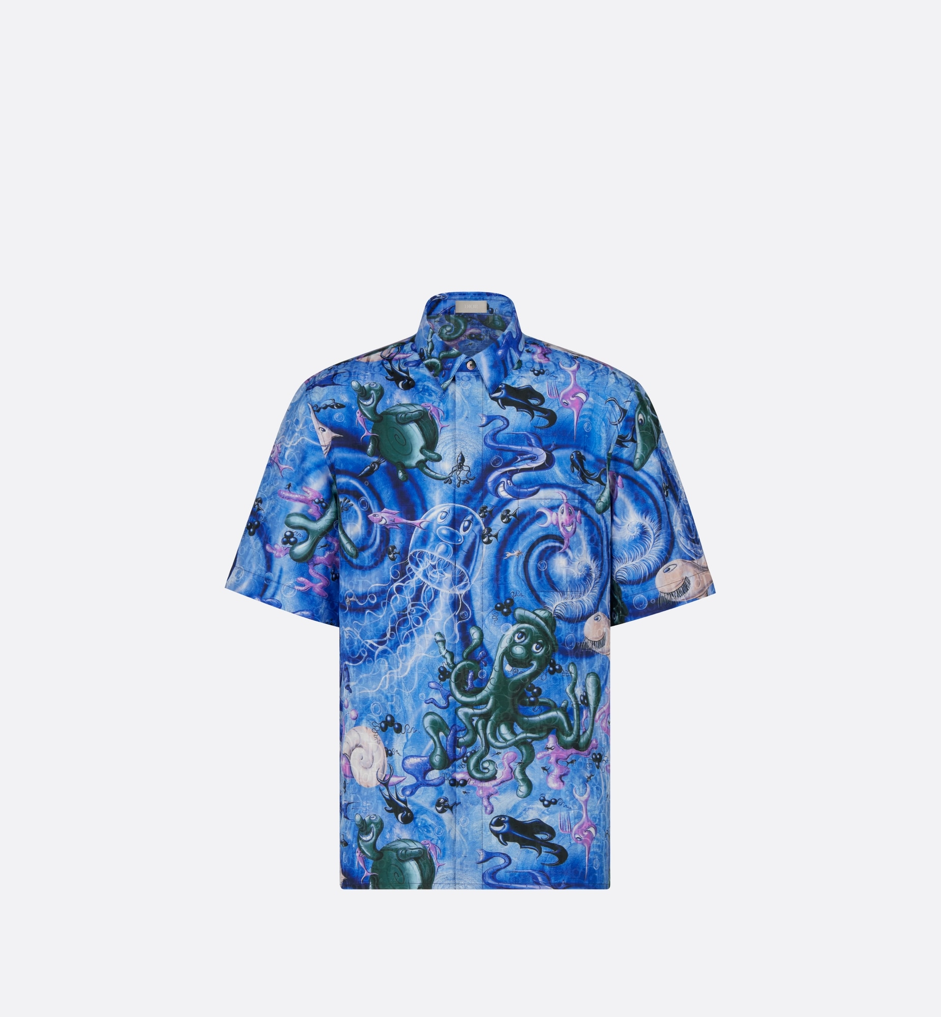 dior and kenny scharf shirt | Dior Front view