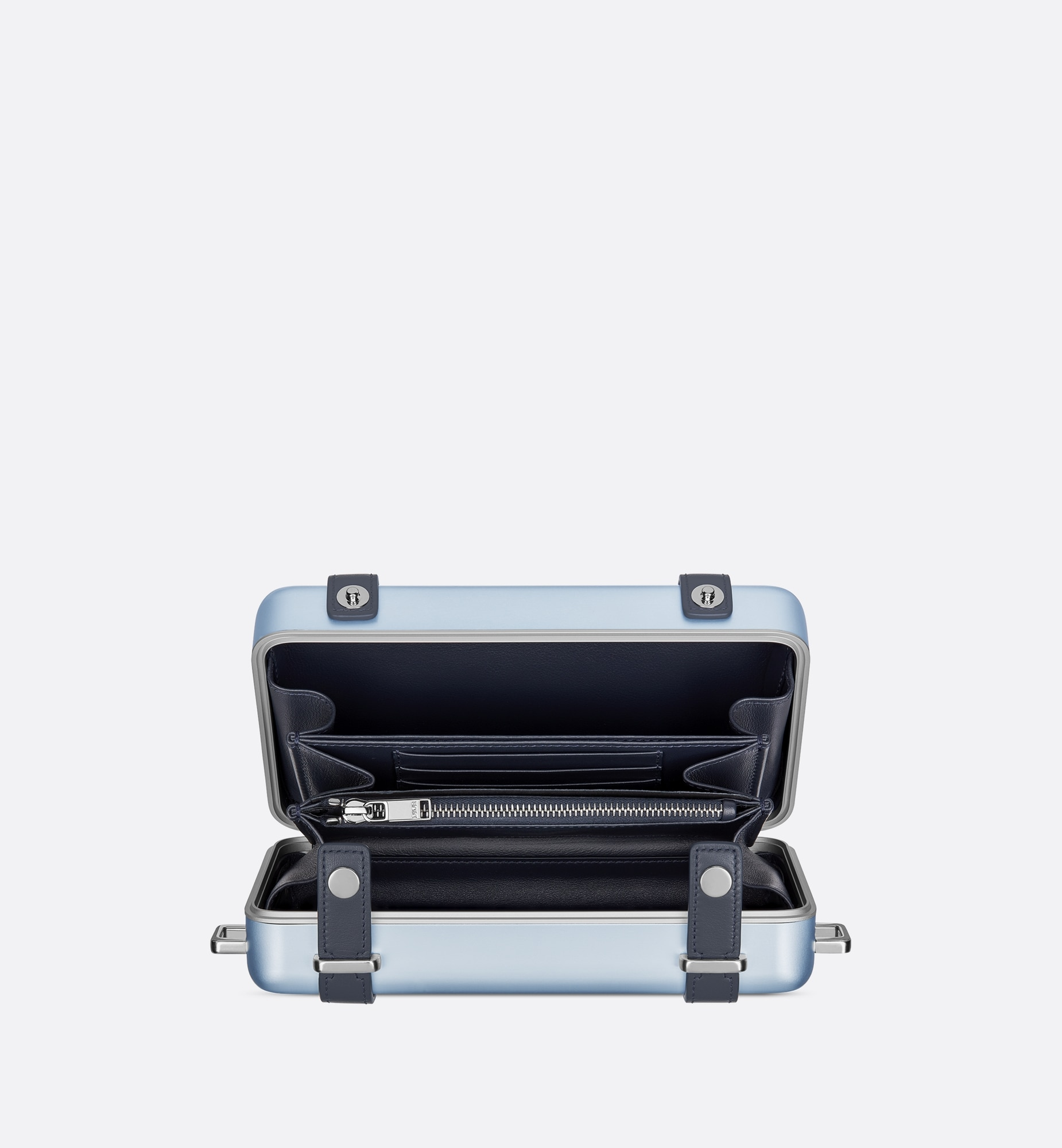 DIOR and RIMOWA Personal Clutch Top shot view Open gallery
