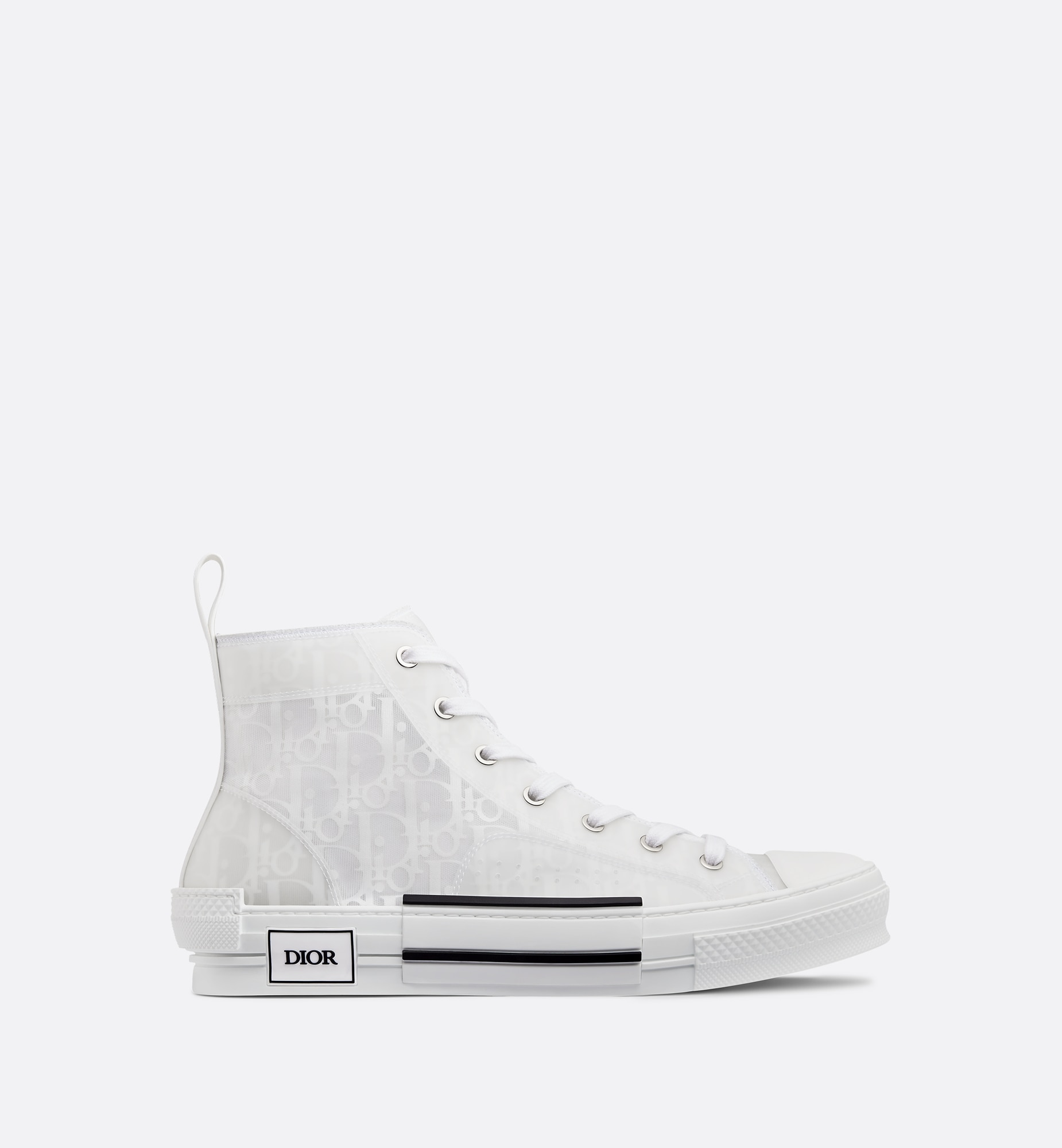 b23 high-top sneaker | Dior Profile view