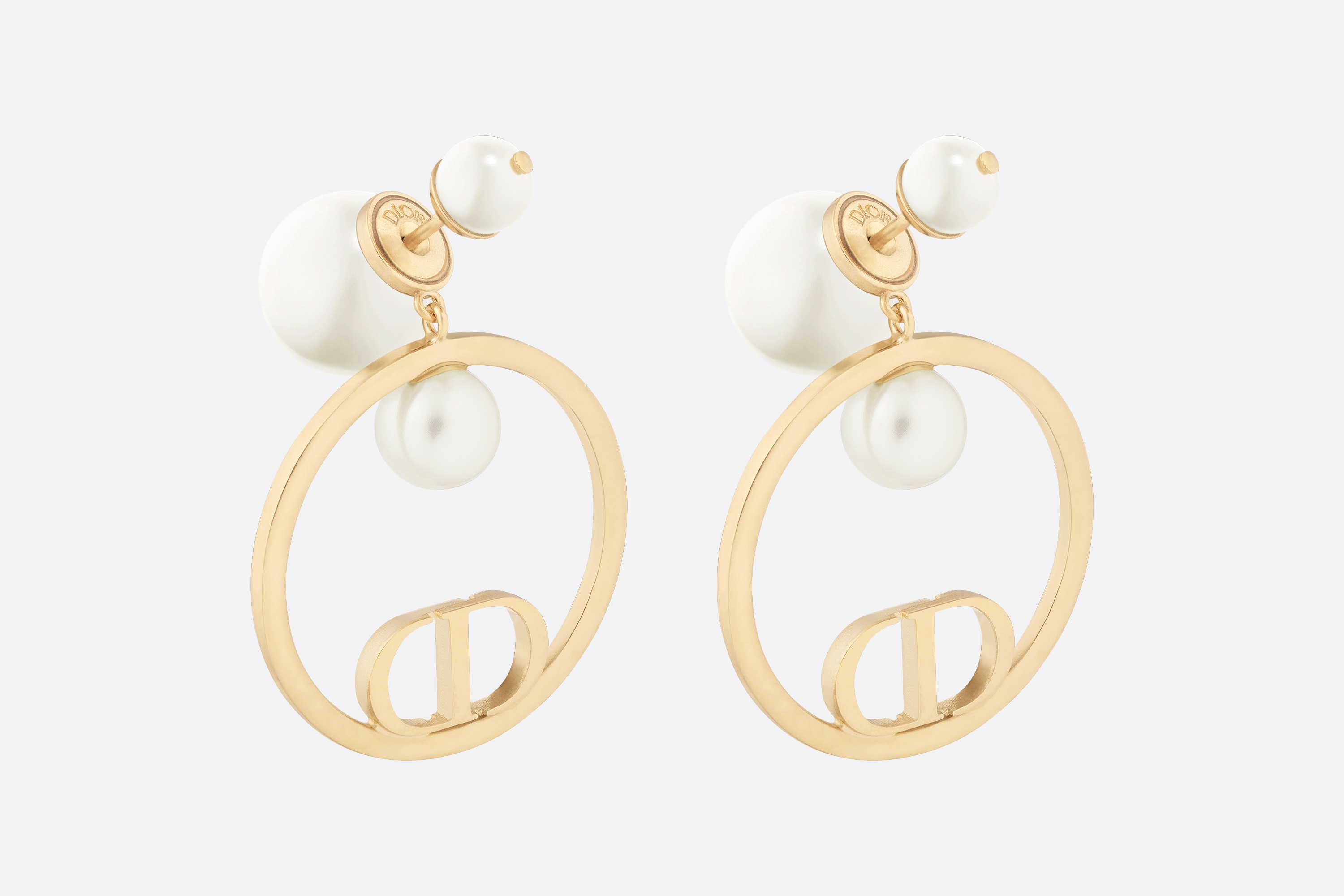 Dior Tribales Earrings Three quarter closed view Open gallery
