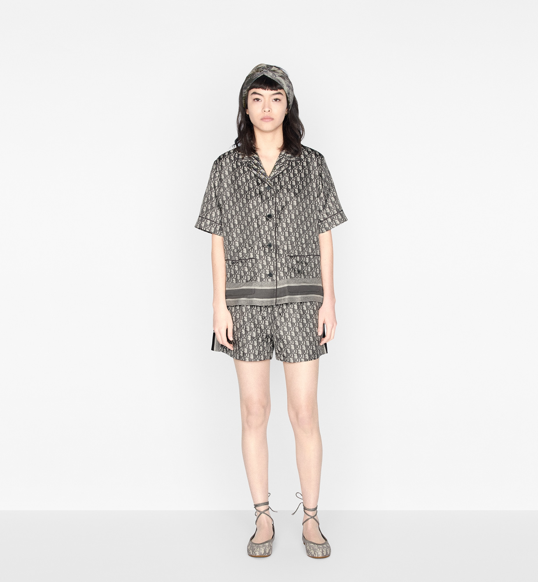 Dior Chez Moi Shorts aria_wornViewCropped aria_openGallery