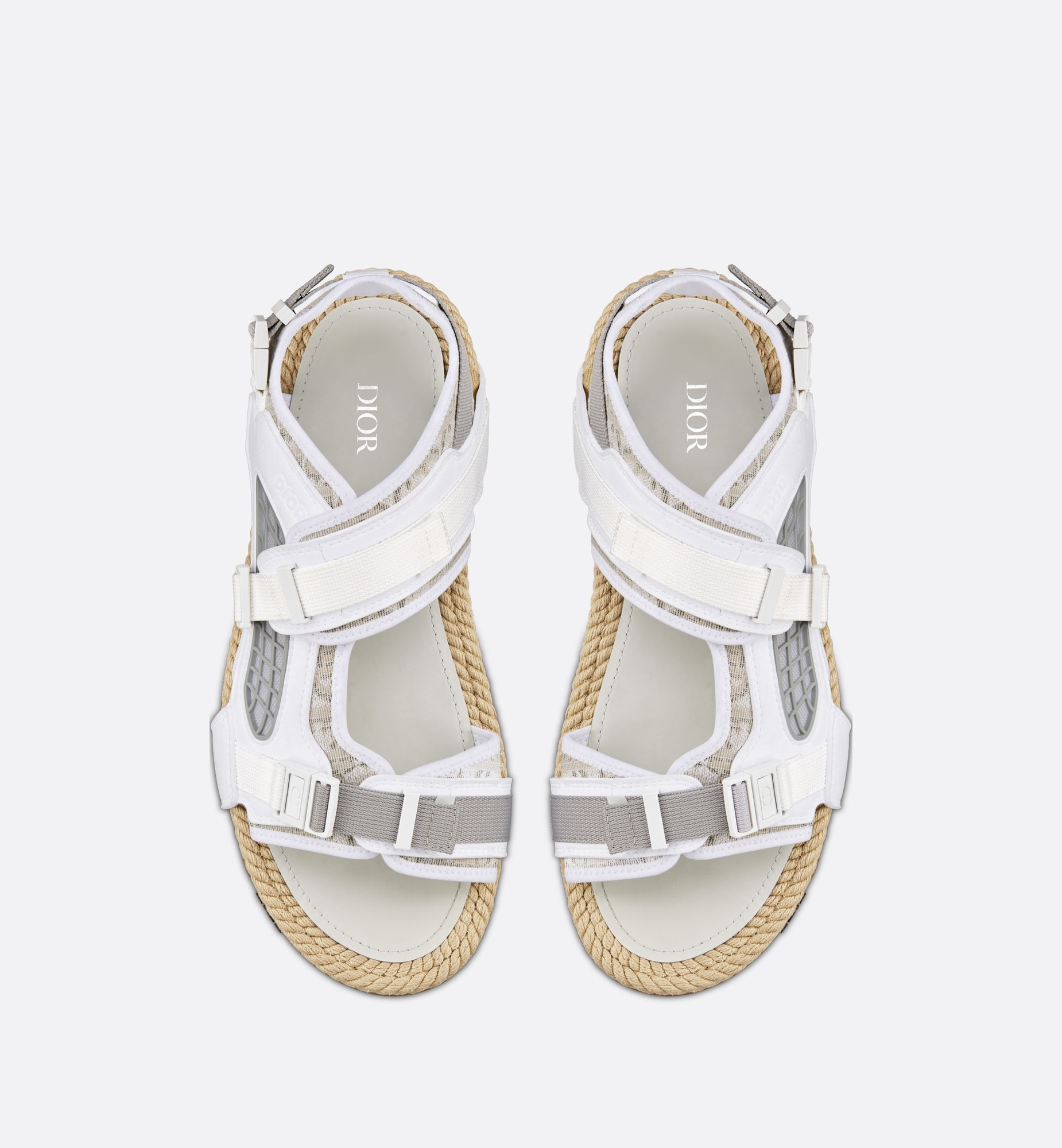 Dior Atlas Sandal Top shot view Open gallery