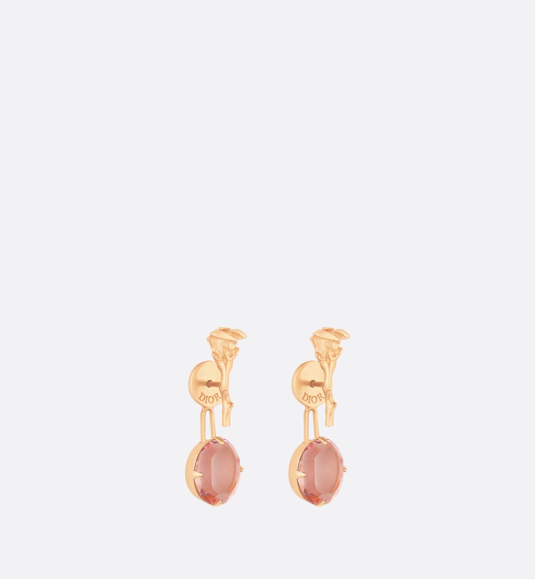 dior dream earrings | Dior Three quarter closed view
