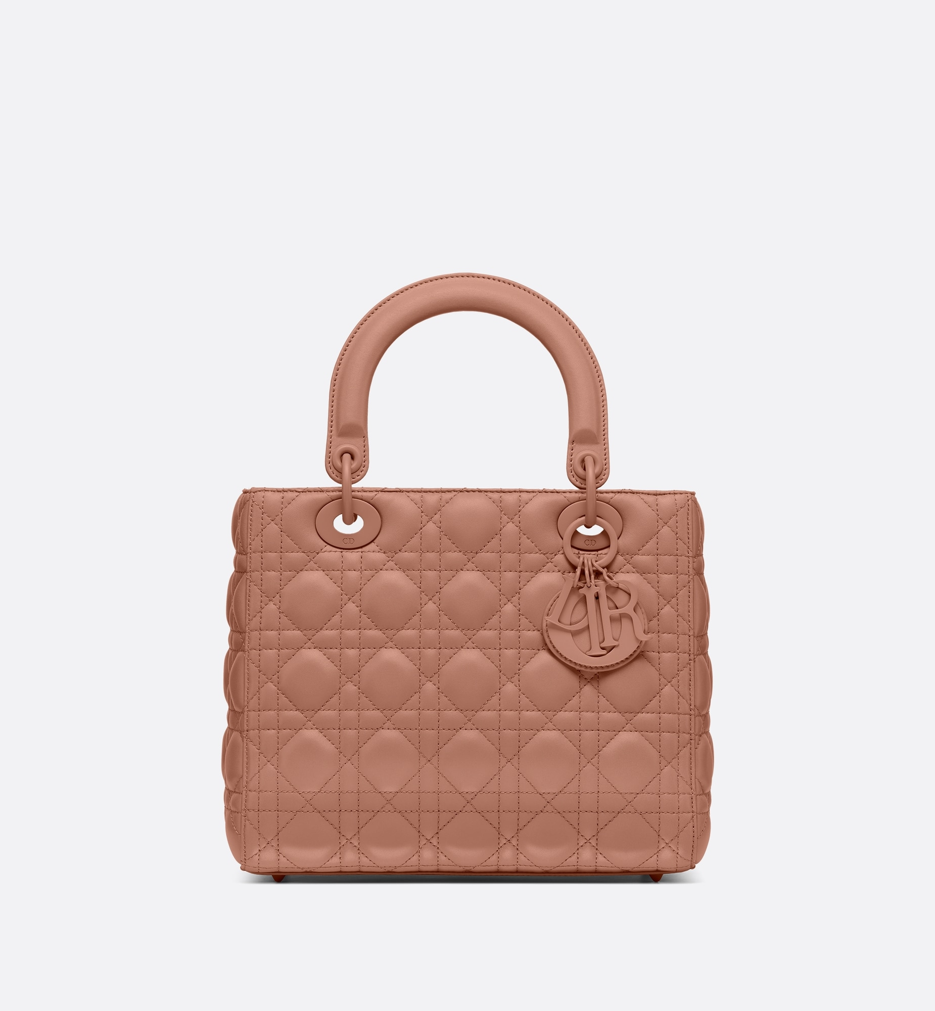 Medium Ultramatte Lady Dior Bag Front view