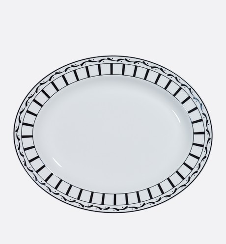 Monsieur Dior oval platter front view