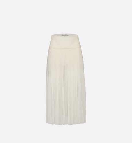 Tulle pleated skirt aria_frontView