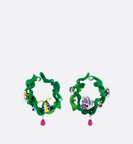 Milly Carnivora Earrings Front view