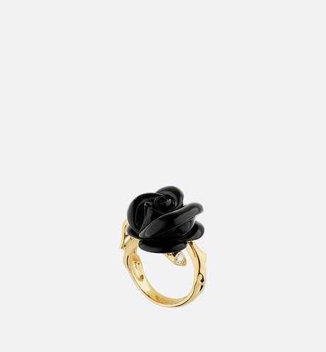 Small Rose Dior Pré Catelan Ring Front view