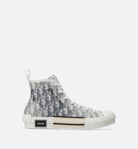 B23 High-Top Sneakers in Dior Oblique aria_frontView