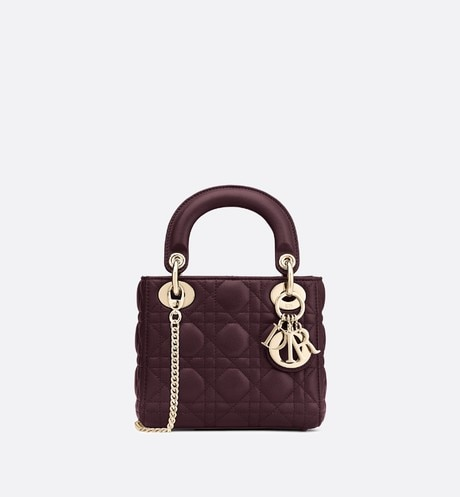 Sac Lady Dior Mini Vue de face