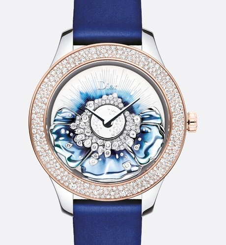 "Dior Grand Bal Miss Dior Ø36 mm, 오토매틱 무브먼트, ""Dior Inversé 11 1/2"" 칼리버 aria_frontView"