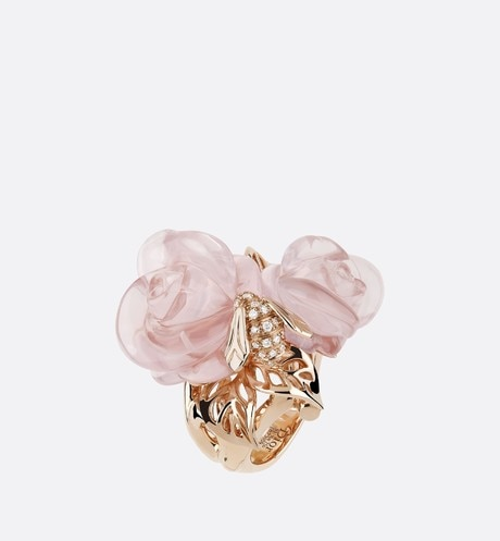 Large Rose Dior Pré Catelan-ring aria_frontView