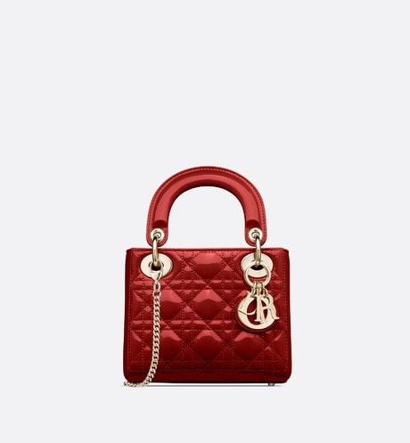 Kleine Lady Dior Tasche aria_frontView