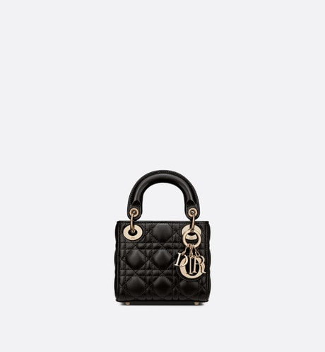 Lady Dior Micro Tasche aria_frontView