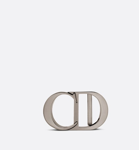 'CD Icon' Belt Buckle Front view