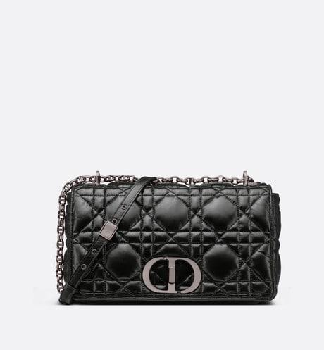 Large Dior Caro Bag Front view
