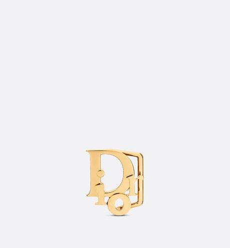 Dior Oblique Belt Buckle Front view